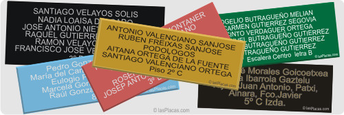 placas buzones plus